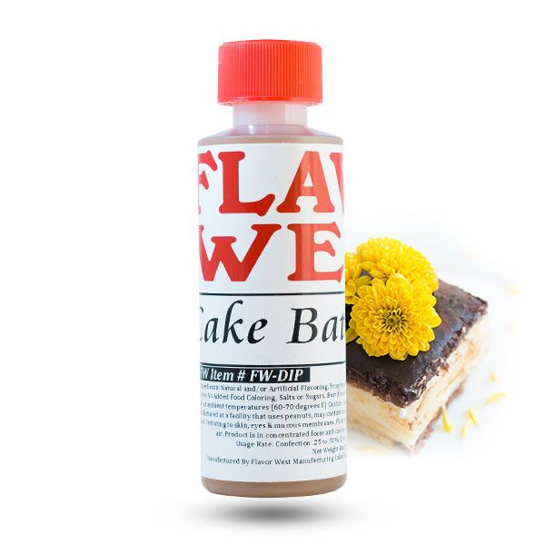 The Flavor West aromāts Cake Batter 118ml
