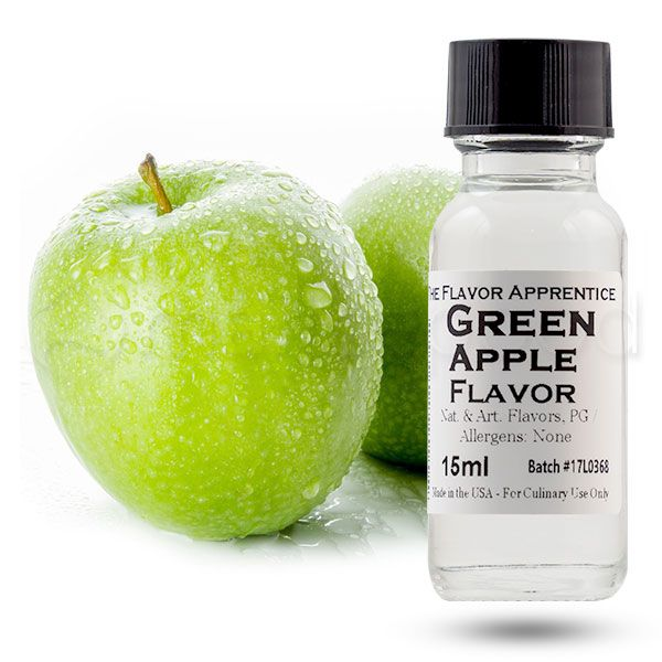 The Flavor Apprentice aromāts Green Apple 15ml